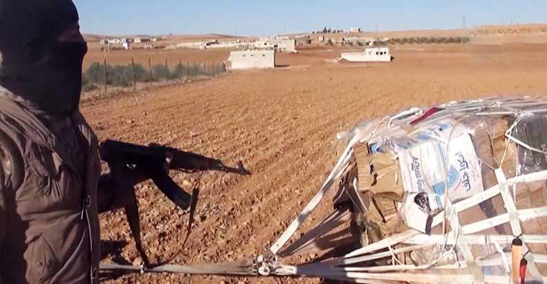 Russia Destroys most ISIS Heavy Weaponry, U.S. Promptly Airdrops 50-Tons of Weapons into Syria