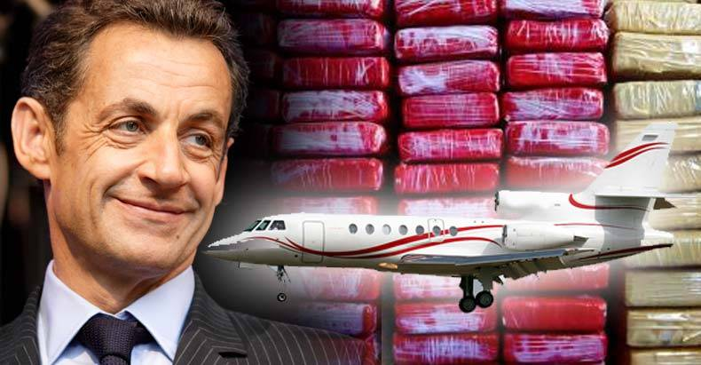 Former-French-President,-Nicolas-Sarkozy,-a-Suspect-After-680-Kilos-of-Cocaine-Found-on-Private-Jet