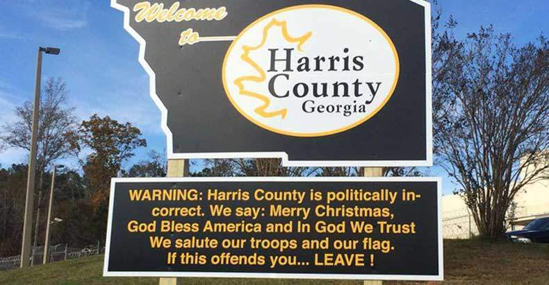 sheriff-puts-up-sign-harris-county