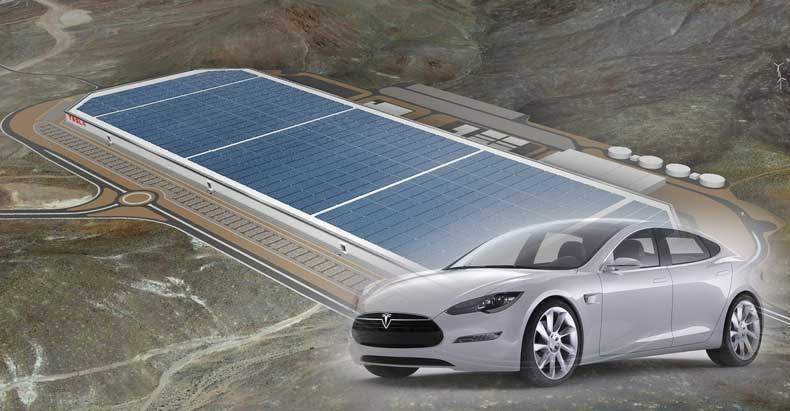Tesla's New Gigafactory is Entirely 'Off-Grid' and Powered by 100% Renewable Energy