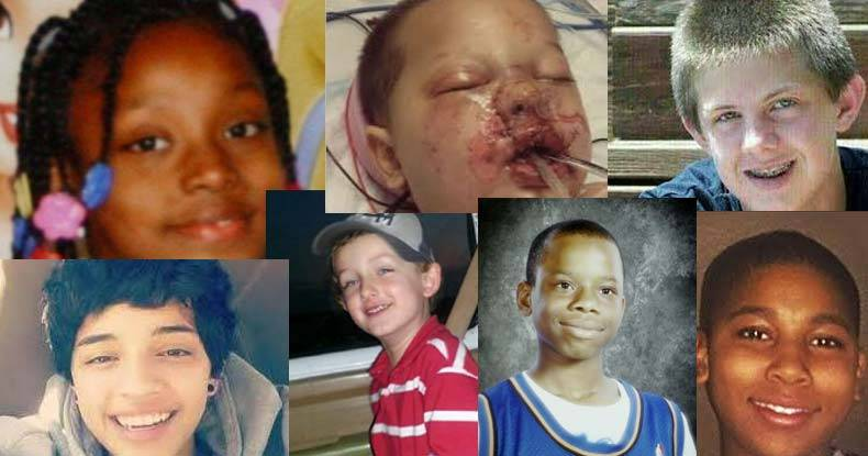 All these children were killed or seriously injured by 'peace officers'