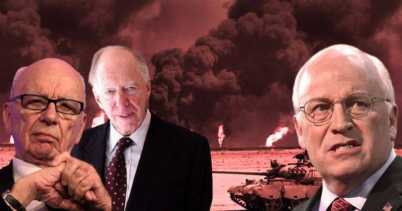 Cheney, Rothschild, and Fox News' Murdoch to Drill for Oil in Syria, Violating International Law