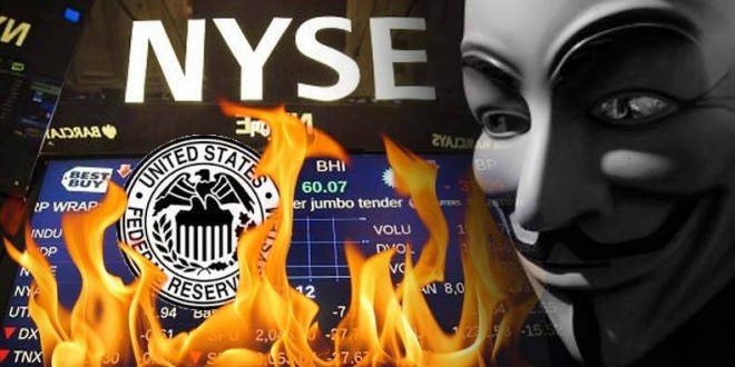 Anonymous Hits New York Stock Exchange, World Bank, The ...