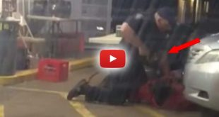 graphic cell phone video showing two officers execute