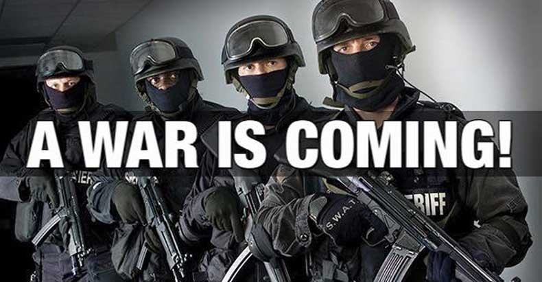 Cops Across the U.S. Now Issuing Ominous Threats of Civil War