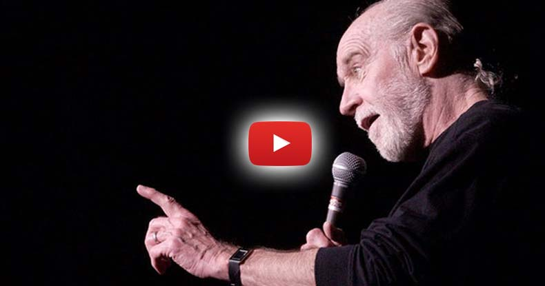 The Day Before 9-11 George Carlin Recorded a Comedy Special, It Never Aired -- Until Now