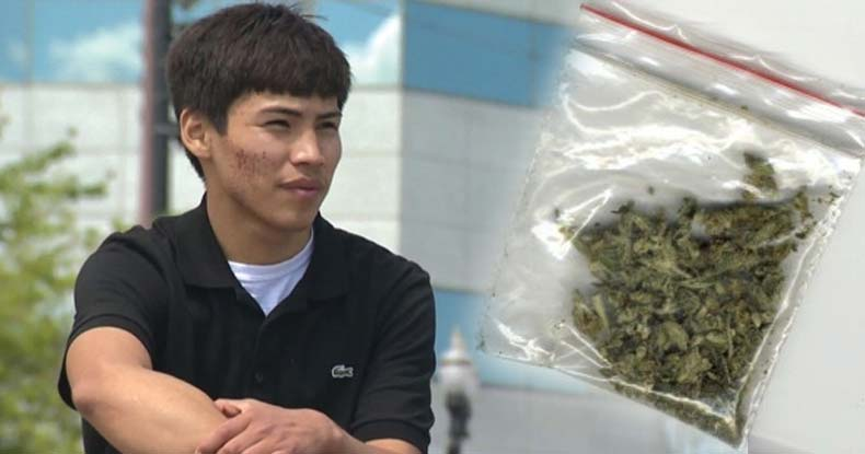 Native American Teen Facing Federal Prison for One Gram of Weed -- in a State Where it's Legal
