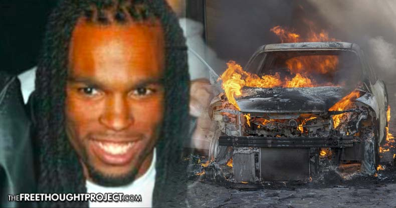 Police Brutality Activist Found Shot in Burning Car After Being Ominously Threatened By Cops