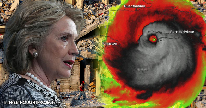 Hurricane Matthew Just Exposed a Human Rights Nightmare, Caused By The Clintons, In Haiti