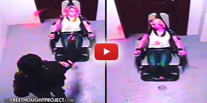Horrifying Video Shows Cop Torturing Restrained Woman With Mace