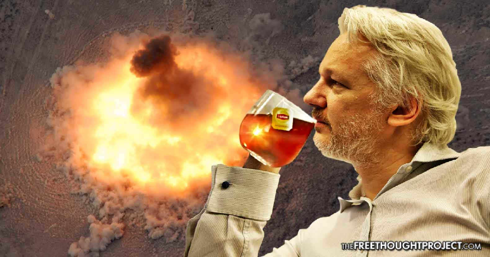 "WikiLeaks: The Afghan Tunnels the US Just Bombed — ""They were built by the CIA"""