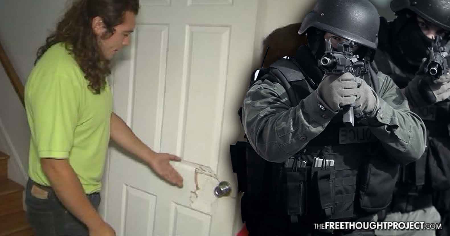 POV SWAT Team Raids the WRONG House with Elderly Woman