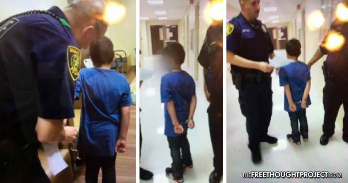 7yo Autistic Boy Cuffed, Kidnapped By Police, Held For 6