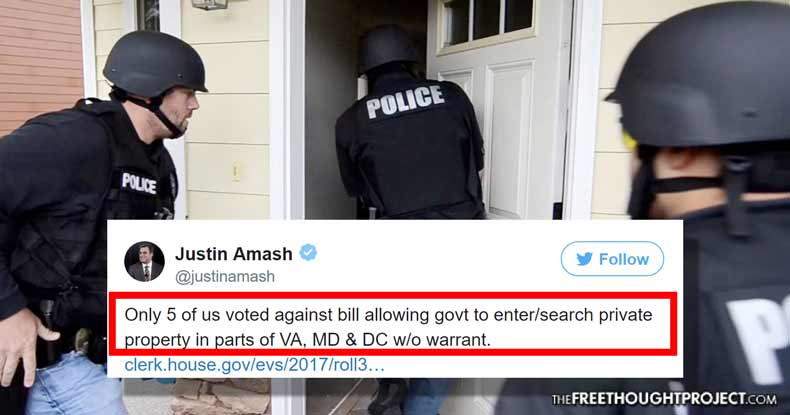Congress Quietly Passed a Bill Allowing Warrantless Searches of