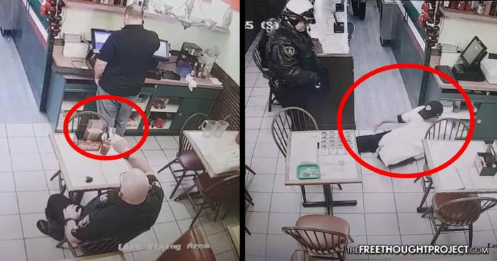 WATCH Crazed Cop Terrorizes Amp Shoots Innocent People With