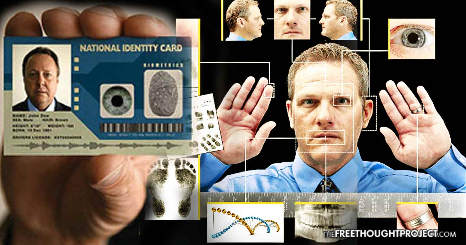 Congress Quietly Pushing Bill to Require National Biometric ID for 'ALL Americans'