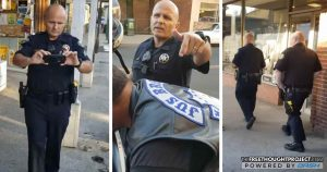 WATCH: Bikers Refuse to Sit Idly By as Cop Admits He's Profiling Them