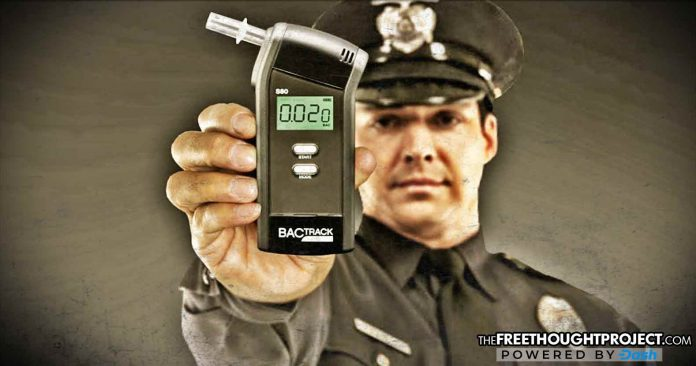 Good Cops Fake 258,000 Breathalyzer Tests To Beat Their Required DUI Quotas