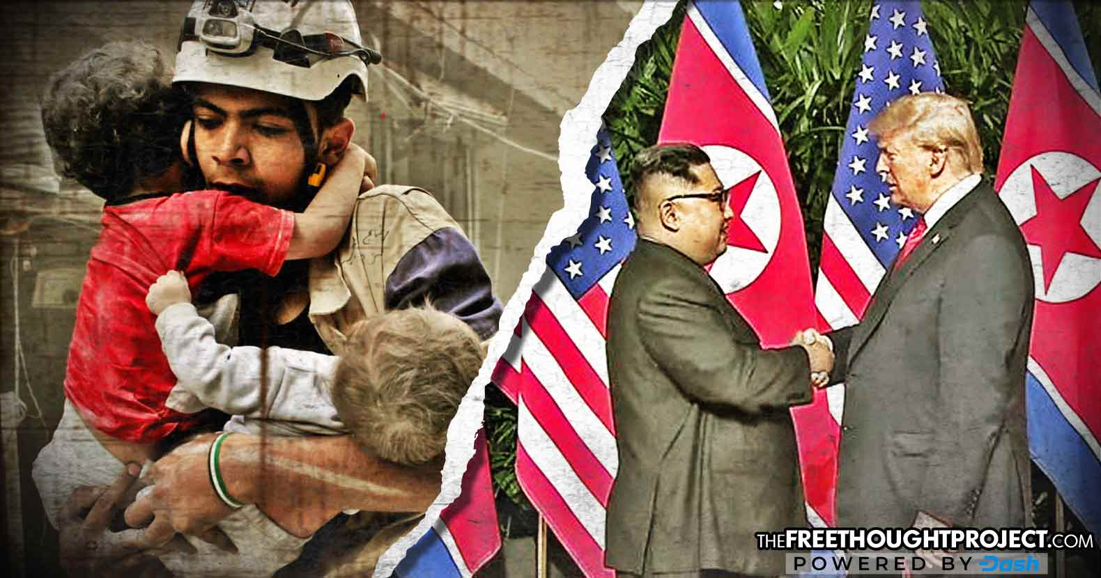 With All Eyes on Kim-Trump Summit, An Imminent False Flag Chemical Attack is Predicted in Syria