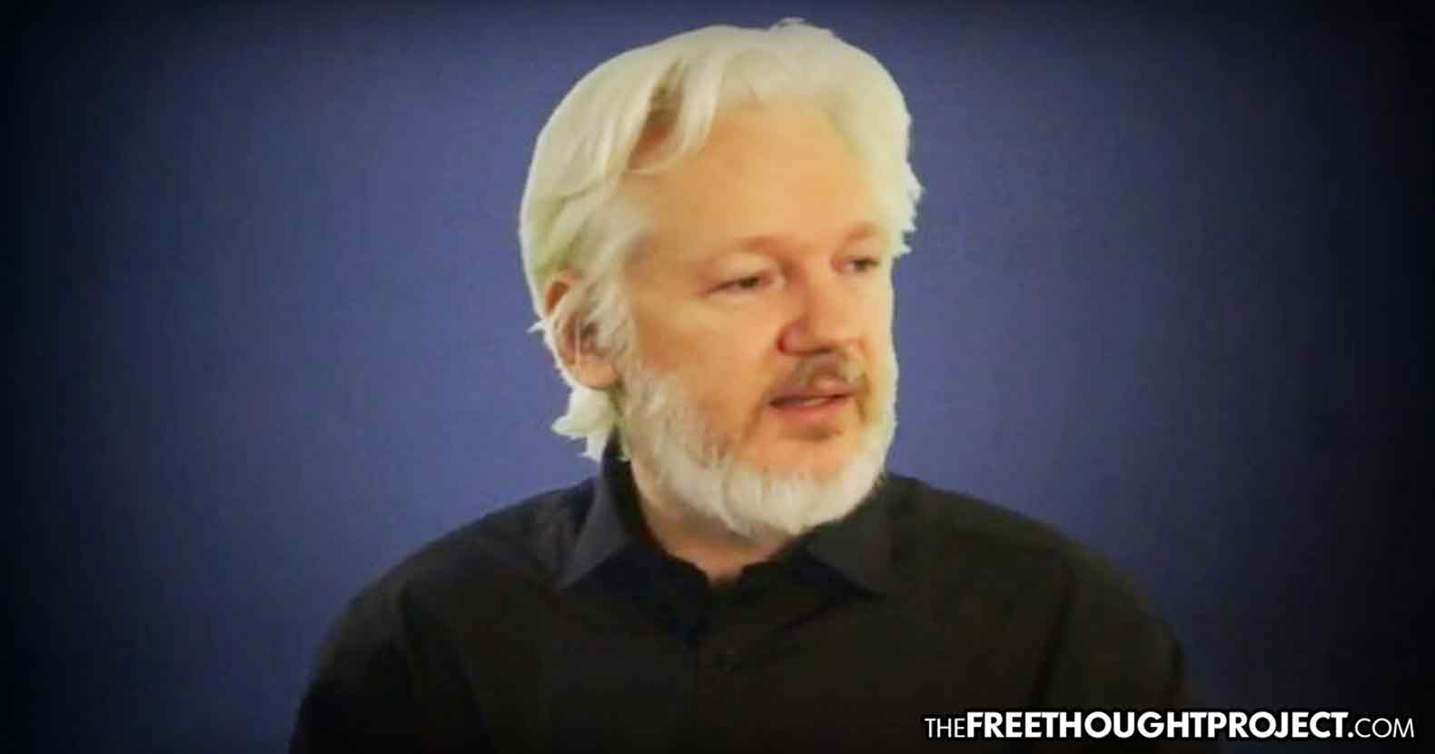 "WATCH: Assange's Last Interview Before Blackout Released—""This is the Last Free Generation"""