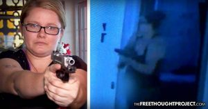 WATCH: Despite Strict Gun Control, Mom Manages to Buy a Gun and Protects Kids from Home Invader