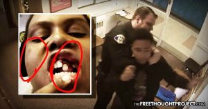 Taxpayers Held Liable After Video Showed School Cop Knock Child's Teeth Out for No Reason