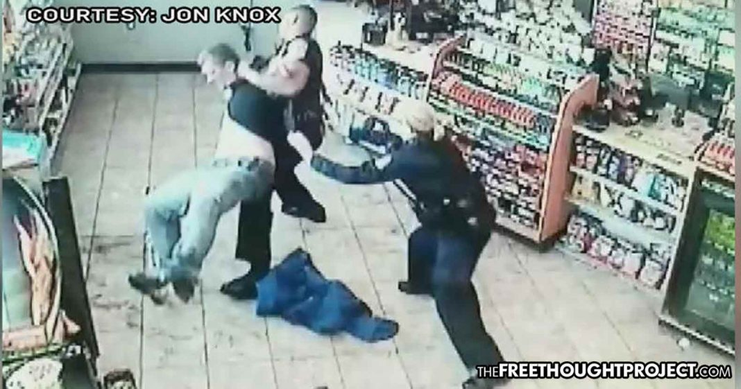 WATCH: Cops Mistake Epileptic Mans Seizure for a Crime So