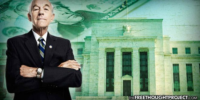 Ron Paul: 'Forget the Russians: It's the Federal Reserve