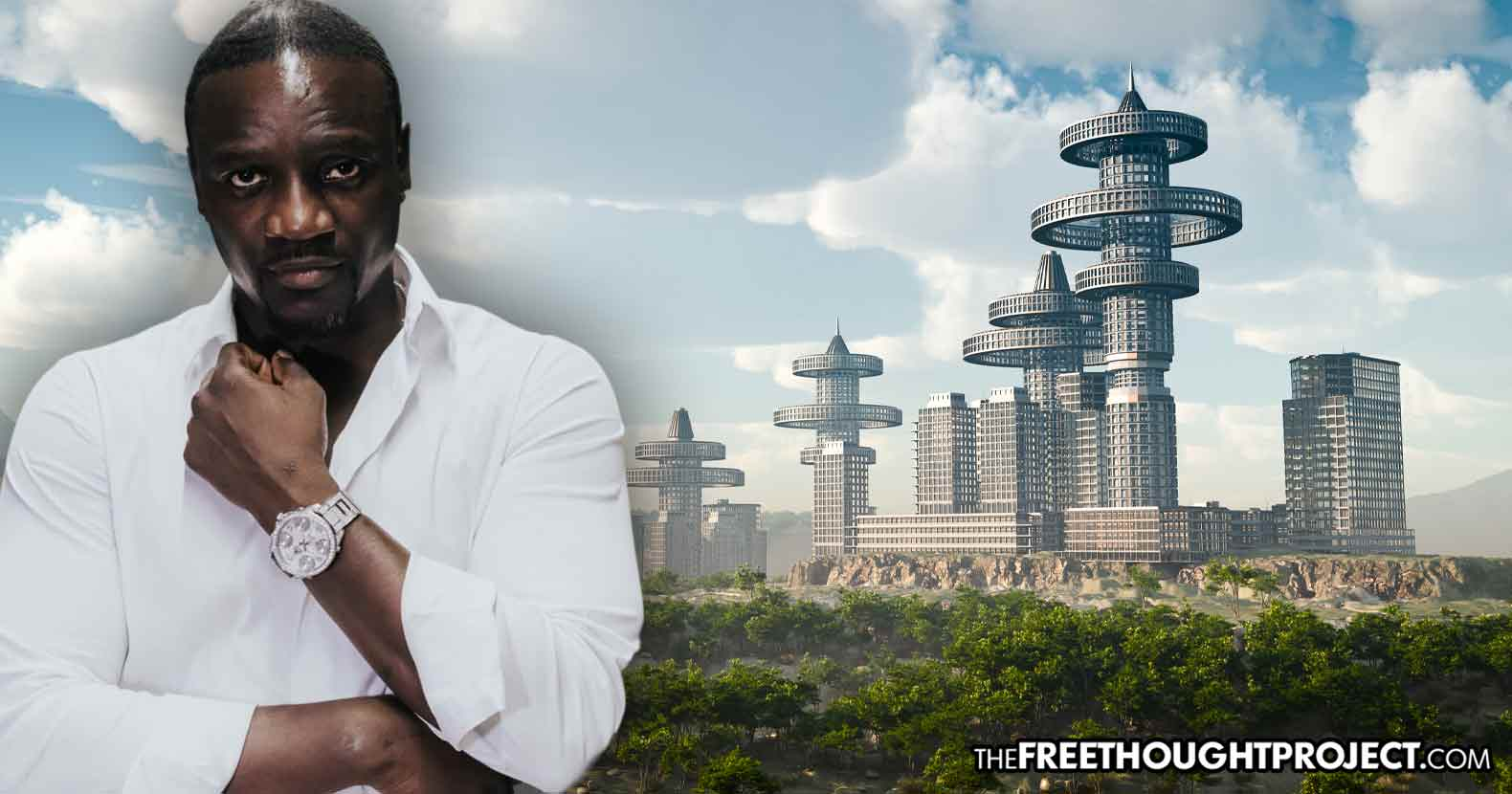 Rap Superstar Akon Creates World's First 'Crypto City' in Africa to Fight Controlled Economy
