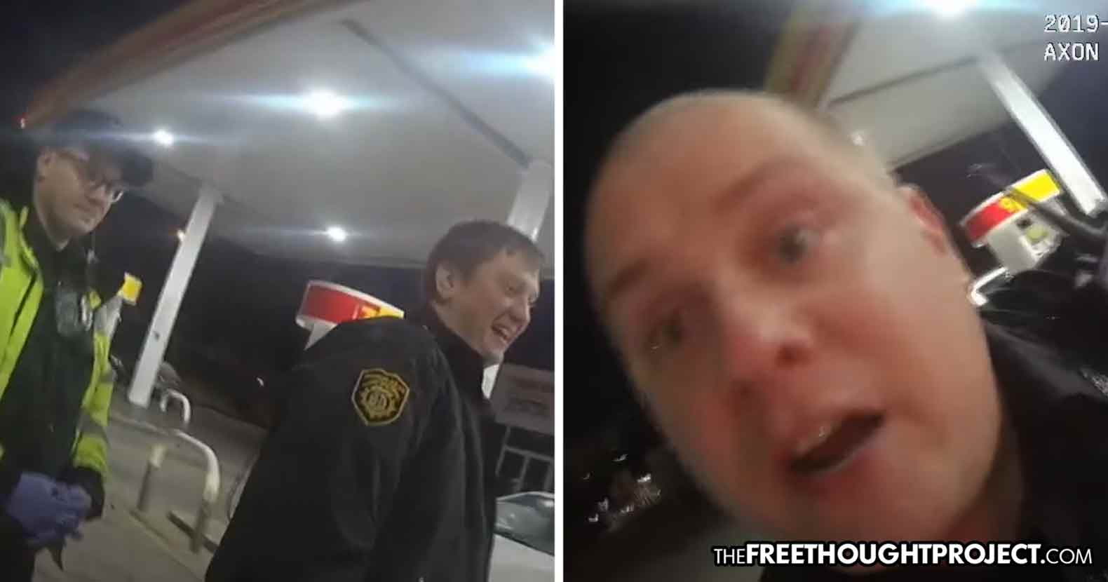 Tennessee Cop Caught on Tape Sexually Harassing Woman And