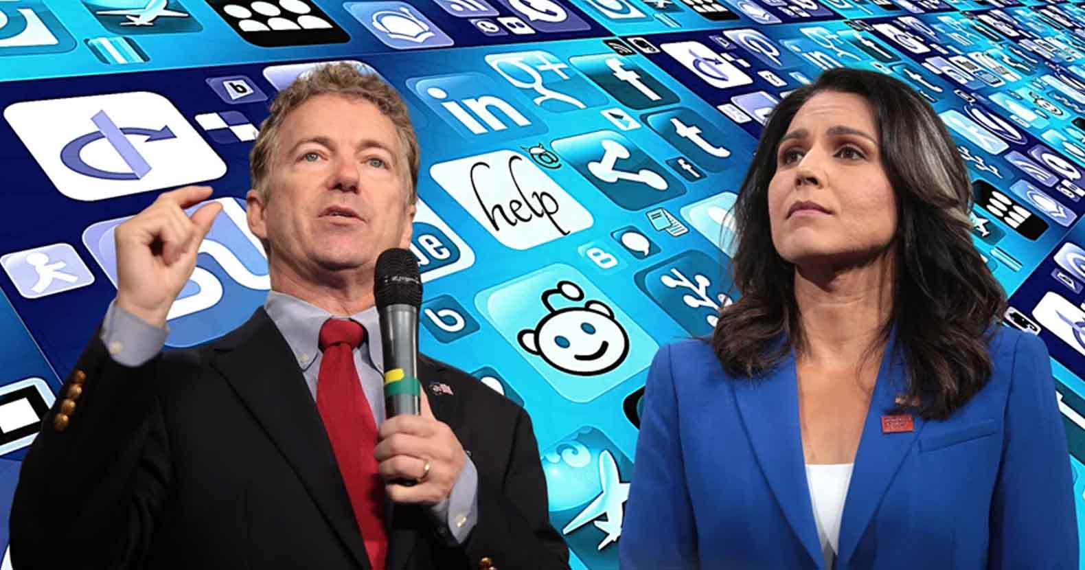 Rand Paul and Tulsi Gabbard Team Up to Unplug the President's 'Internet Kill Switch'