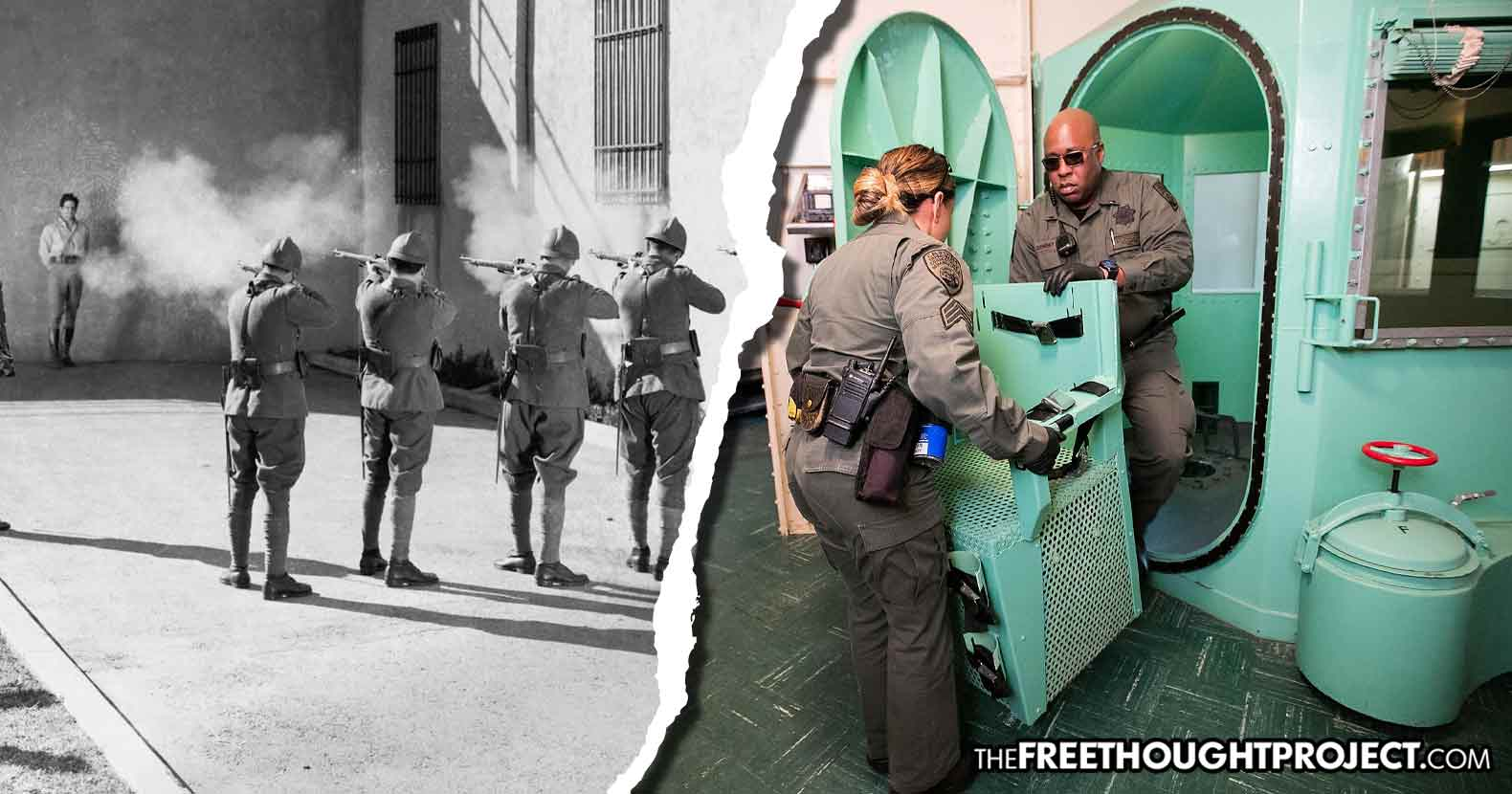 DOJ Quietly Amends Execution Protocols, Clearing the Way for Gas Chambers, Firing Squads